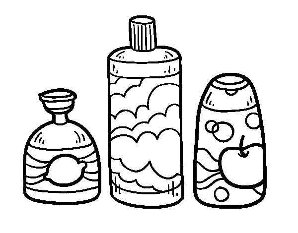 3 bath soaps coloring page