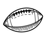 A baseball coloring page