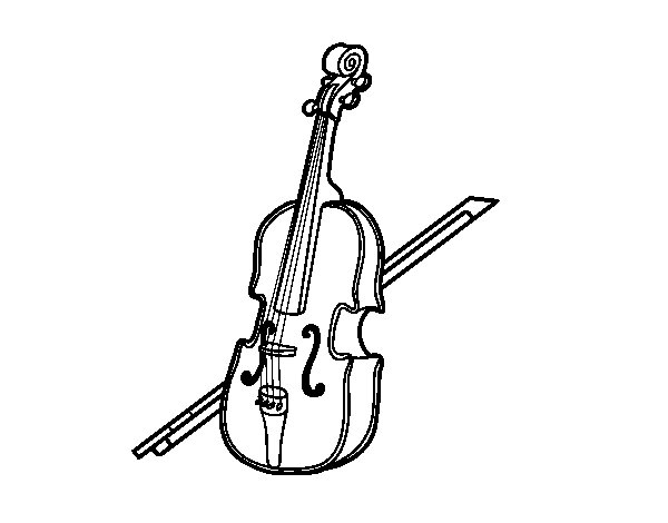 A bass coloring page