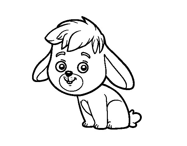 A field rabbit coloring page