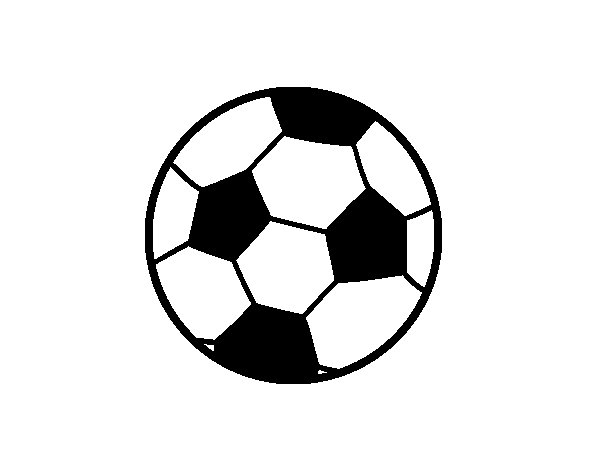 A football ball coloring page