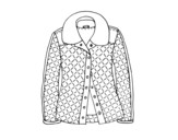 A jacket coloring page