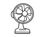 A ventilator coloring page
