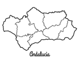 Andalusia coloring page