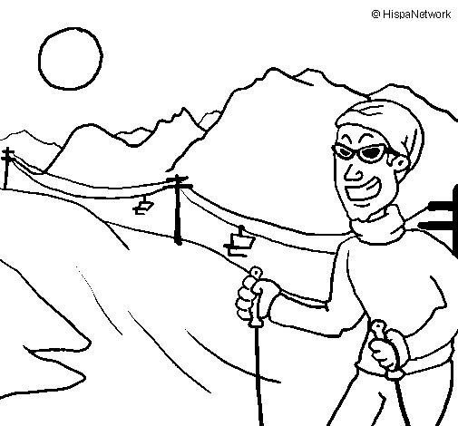 Andorra coloring page