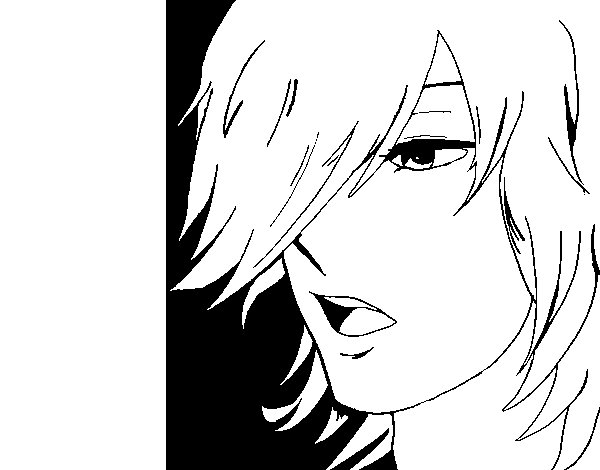 Anime Boy Coloring Page Coloringcrew Com Anime Boy And Coloring Pages