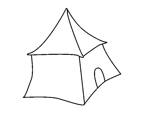 Arab tent coloring page - Coloringcrew.com