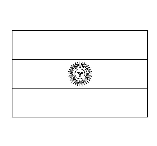 Argentina Coloring Page Coloringcrewcom - argentina soccer team coloring pages