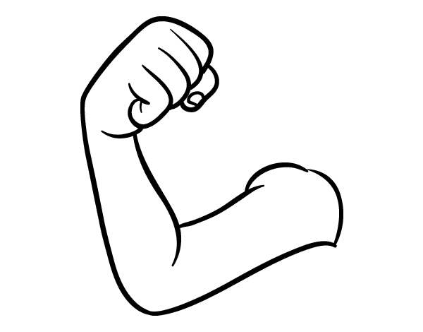 Arm coloring page Coloring book your photos