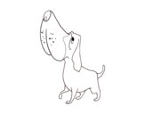 Basset Hound coloring page