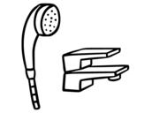 Bathroom Tap coloring page