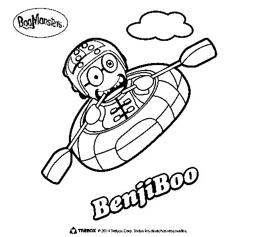 BenjiBoo coloring page