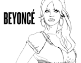 Beyoncé B-Day coloring page