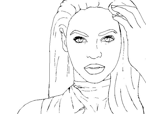 beyonc i am sasha fierce coloring page coloringcrewcom - Beyonce Coloring Book
