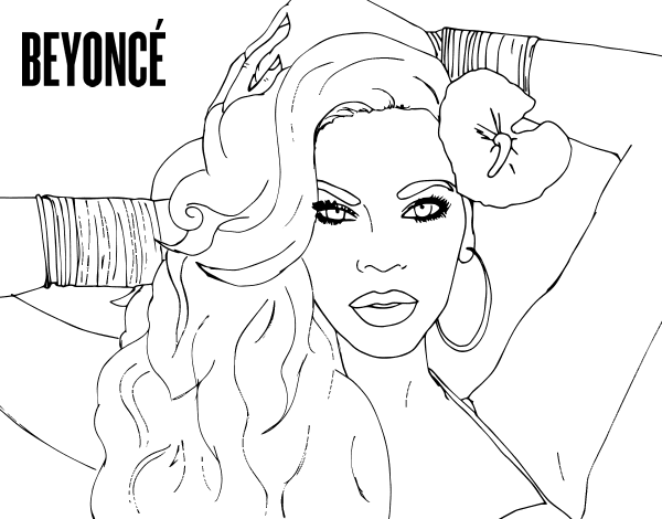 cardi b coloring pages