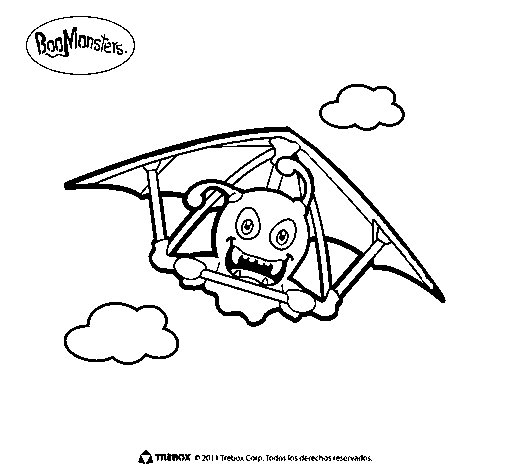 BooMonsters 1 coloring page