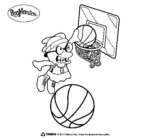 BooMonsters 5 coloring page