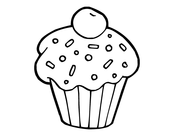 chocolate brownie coloring pages-#24