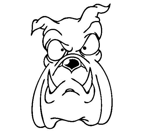 Bulldog II coloring page