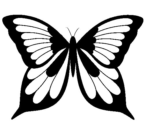 Butterfly 19 coloring page