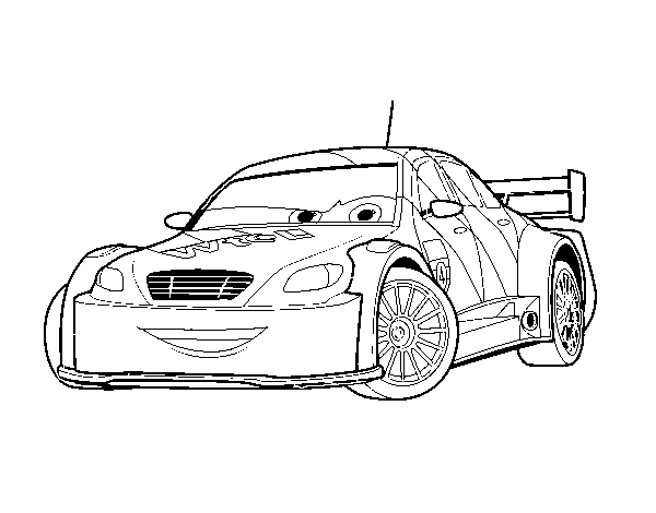 Car 2 Coloring Pages Image Gallery Of Cars Max Schnell