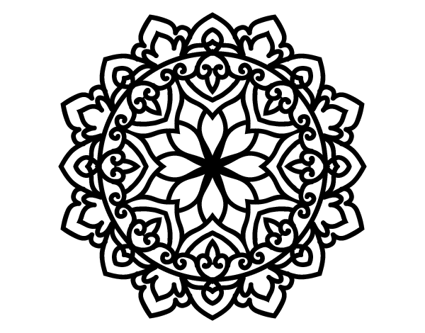 create your own mandala coloring page - celtic mandala coloring page