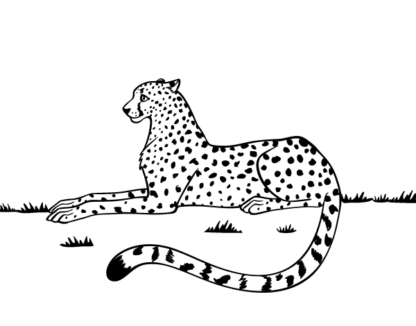 resting coloring pages - photo#43