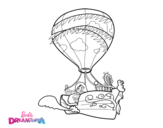 Chelsea y Honey coloring page
