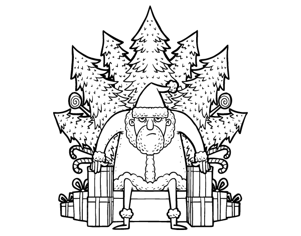 Christmas Game Of Thrones Coloring Page