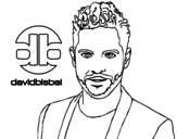 David Bisbal coloring page
