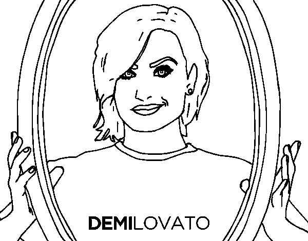 Coloring Pictures Of Demi Lovato 19