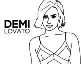 Dibujo de Demi Lovato