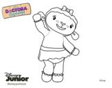 Doc McStuffins - Lambie coloring page