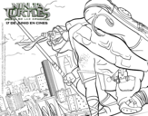 Donatello Ninja Turtles coloring page