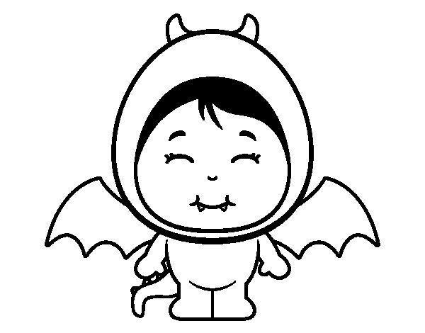 Dragon girl coloring page