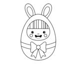 Dibujo de Easter costume