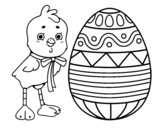 Dibujo de Easter drawing