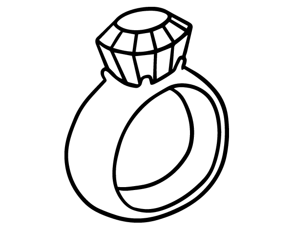 coloring pages of rings - photo#12