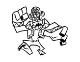 Dibujo de Evil Frankenstein