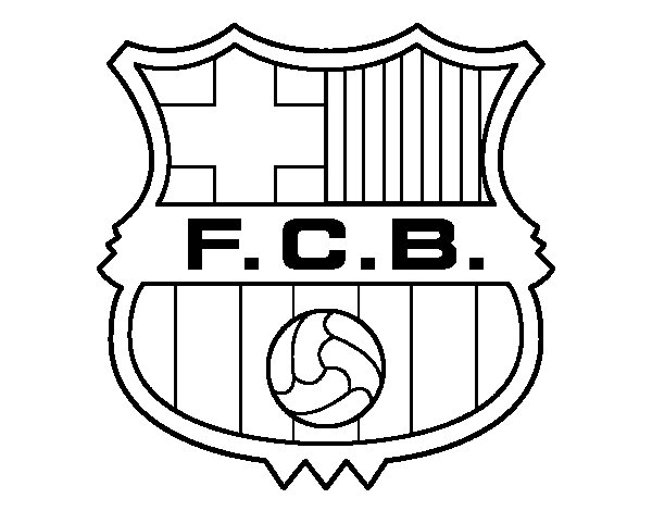 coloring pages barcelona fc schedule - photo#8