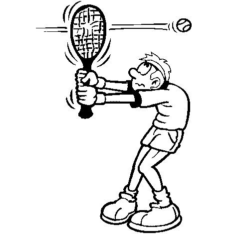 Fast ball coloring page