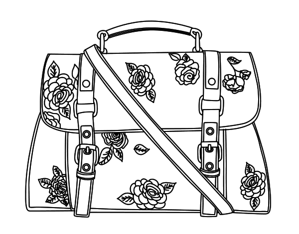 purses coloring pages - photo#28