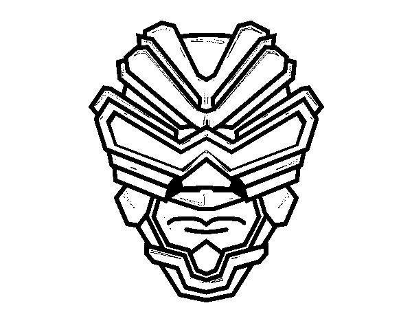 gamma ray mask coloring page