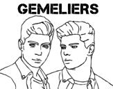 Dibujo de Gemeliers - Mil y una noches