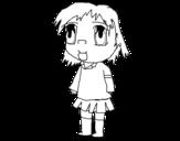 Dibujo de Girl in uniform