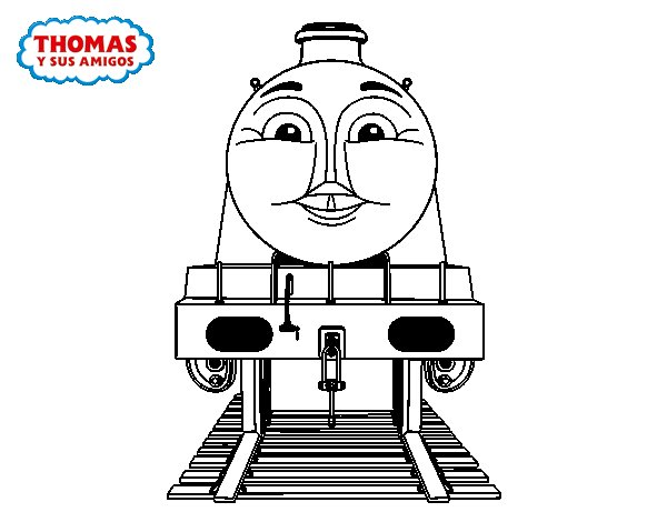 Gordon from Thomas and friends coloring page  Coloringcrewcom