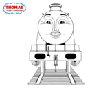 Dibujo de Gordon from Thomas and friends