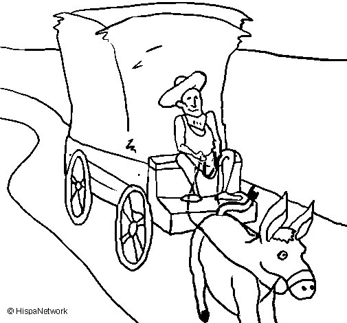 Greek peasant coloring page