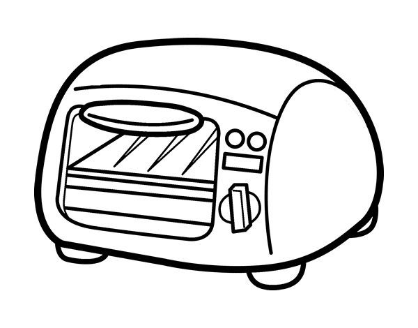 grill coloring page - grill coloring page