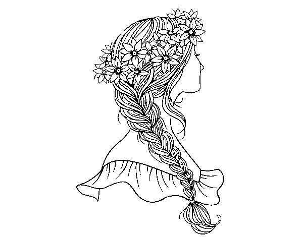printable coloring pages haircuts - photo#13
